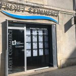 façade agence projet commerce